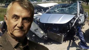 Mustafa Alabora kaza anını anlattı