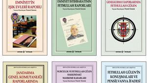 Gülen ile ilgili çarpıcı belgeler bu kitaplarda