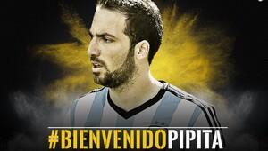 Avrupa'da transfer bombası patladı! Higuain resmen Juventus'ta