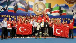Ümitlerden toplam 11 Madalya