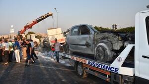 İzmir'de zincirleme trafik kazası: 1'i ağır, 10 yaralı