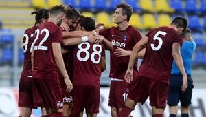 Trabzonspor Macaristan'da plakayı yazdı! Yanal'la ilk galibiyet...