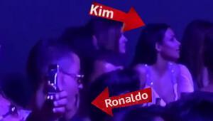 Sürpriz! Ronaldo ve Kim Kardashian görüntülendi