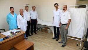 Pamukkale'de sağlık birimi