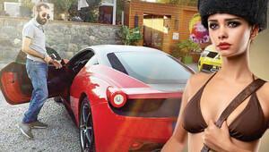 Boşanınca Ferrari'sini geri aldı