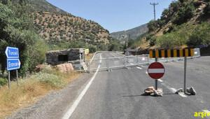 Tunceli-Ovacık karayolu 3 gün süreyle trafiğe kapatıldı