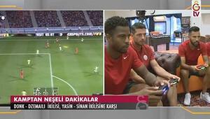 Galatasaraylı futbolcular PlayStation'da kapıştı