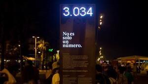 Barcelona'da 'utanç panosu'