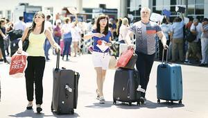 Turizm gelirleri de eridi