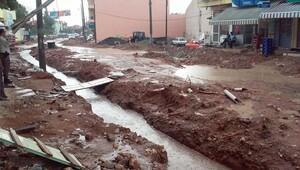 Ulubey'de yağmur hayatı etkiledi