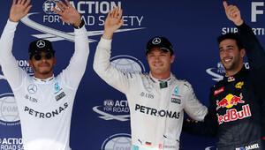 Almanya'da ilk cep Rosberg'in