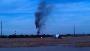 ABD'de sıcak hava balonu düştü : 16 ölü