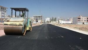 Kilis'te asfalt çalışması