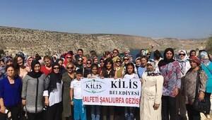 Kilisli kadınlar Şanlıurfa'yı gezdi