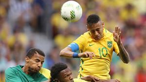 Neymar'lı Brezilya'ya büyük şok!