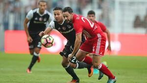 Beşiktaş Olympiakos'u tek golle geçti (Maç özeti)