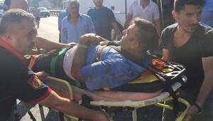 Körfez'de 3 TIR ile 1 otobüs çarpıştı: 4 yaralı