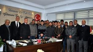 Roman Vatandaşlardan Kale'ye Teşekkür Ziyareti