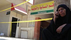Irak'taki hastane yangınında 11 bebek hayatını kaybetti