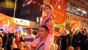Zonguldak'ta demokrasi nöbetinin son gününde şehitler için dua edildi