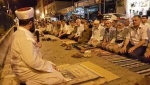 Kahta'da sahah namazı ile nöbet sona erdi