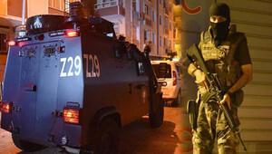 İstanbul'da Özel Harekat'tan şafak operasyonu