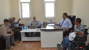Başkan Özgüven Hortu'da Vatandaşları Dinledi