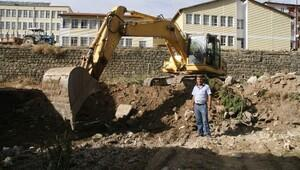 Yozgat Kapalı Pazar Yeri İnşaatında Çalışmalar Başladı