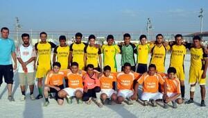 Çadır Kentte Futbol Turnuvaları Başladı