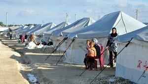 Süleyman Şah Çadır Kentte Kış Hazırlığı