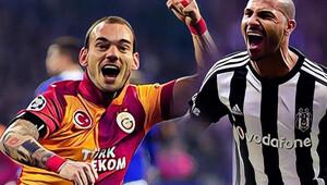 Beşiktaş-Galatasaray derbisine bir de böyle bakın!