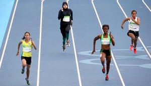 Bu bir ilk! Suudi kadın sporcu tarihe geçti
