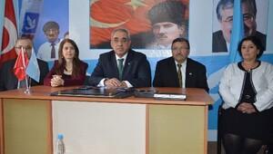 DSP Genel Başkan Adayı Aksakal Eskişehir'de