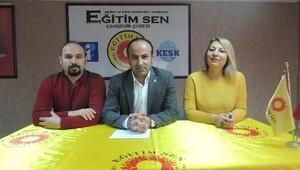 Eğitim-sen Eskişehir Şube Başkanı Serkan Demir: