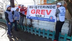 Sıcak hava balonu işçilerinden grev