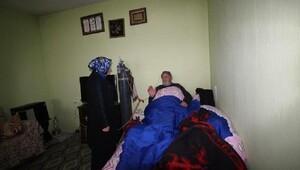 KOAH hastası baba-oğula anlamlı ziyaret