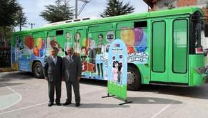 Sosyal Güvenlik Otobüsü Ispartada