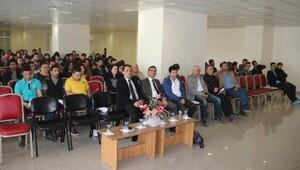 Öğrencilere zeytinyağı semineri