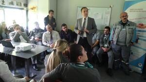 Dr.Kazak tarafından organ bağışının önemi anlatıldı