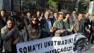 Somada ölen işçiler Hakkaride anıldı
