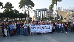 Soma'da hayatını kaybeden madenciler Antalya'da anıldı
