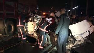 Maltepe'de kaza: 1 ölü