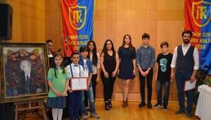 Resim yarışmasında ödüller verildi