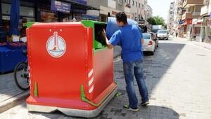 Çöpte 'yeni nesil konteyner' çözümü
