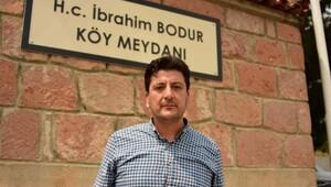 Seramiğin babası İbrahim Bodur'un köyünde yas