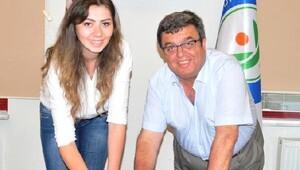 Nilüfer Belediyespor Ceyda Aktaş ile 1 yıllık sözleşme imzaladı