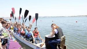 Dragon Boat Yarışları çekişmeli geçti