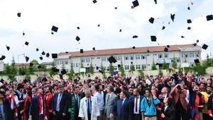 Elbistanda mezuniyet coşkusu
