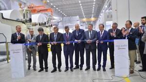 İpek Kağıt Manisa ve Kazakistan'daki yatırımlarını eş zamanlı devreye aldı