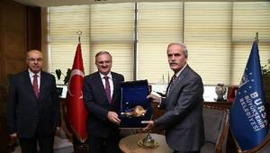 Vali Karaloğlu'ndan Başkan Altepe'ye veda ziyareti